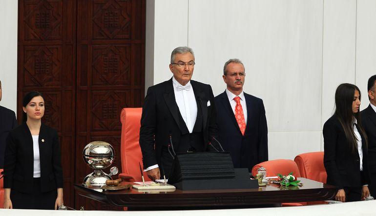 CHP'nin Meclis Başkan adayı Deniz Baykal