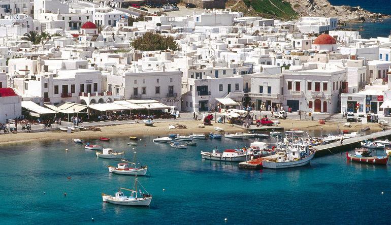 Türk turistin gözü Yunanistan'da