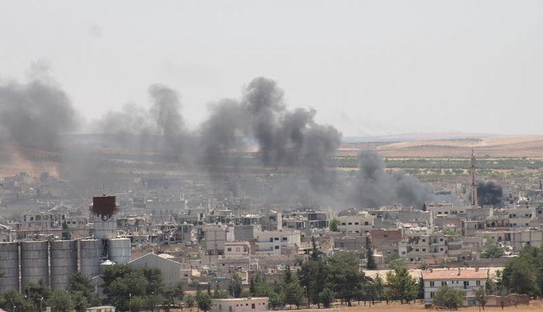 IŞİD Kobani'yi içerideki uyuyan hücreleriyle vurdu