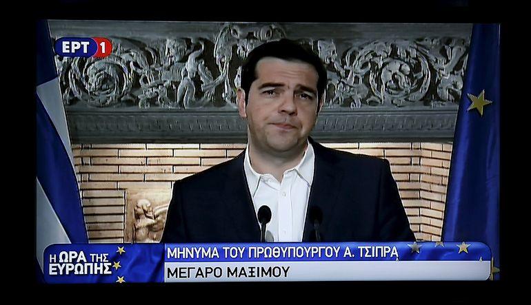 Yunanistan anlaşma için referanduma gidiyor