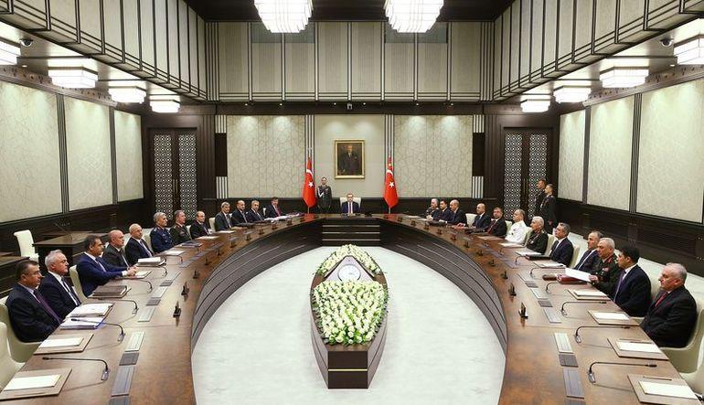 """MGK toplantısında """"Suriye"""" vurgusu"""