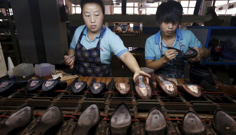 Çin fabrikalarında çarklar yavaşladı