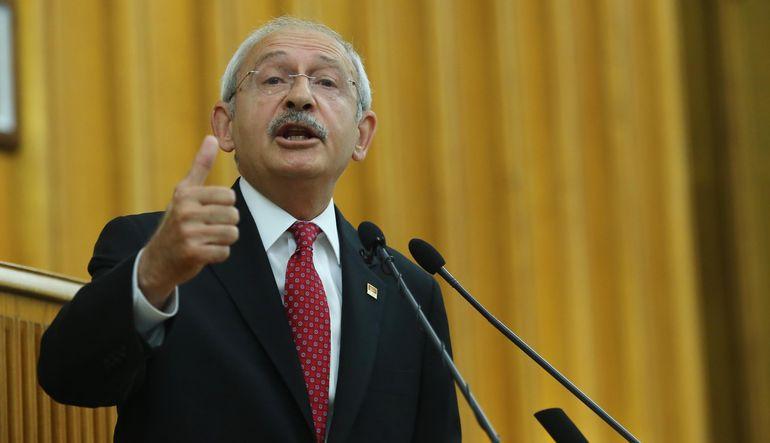 CHP Genel Başkanı Kılıçdaroğlu, MHP'ye sert tepki gösterdi