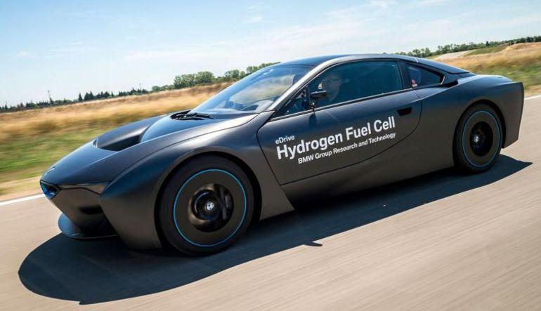 BMW'den hidrojenli araç