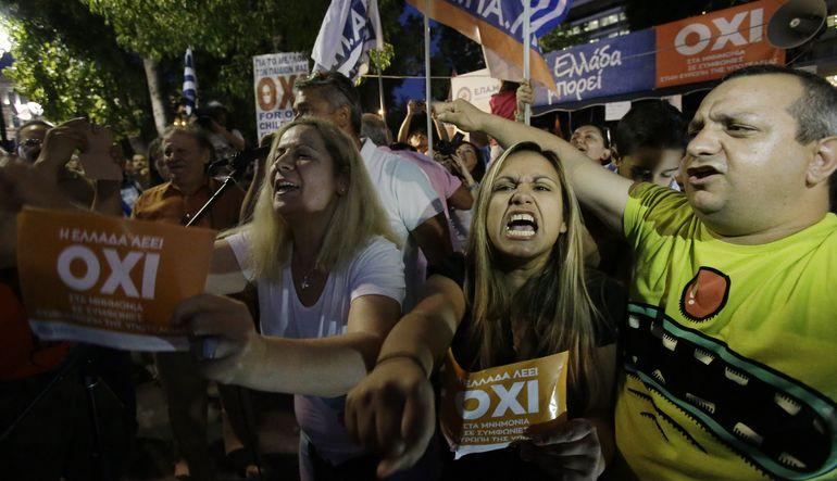 Yunan halkının kreditörlerin teklifini reddetmesinin ardından Grexit hiç olmadığı kadar yakın