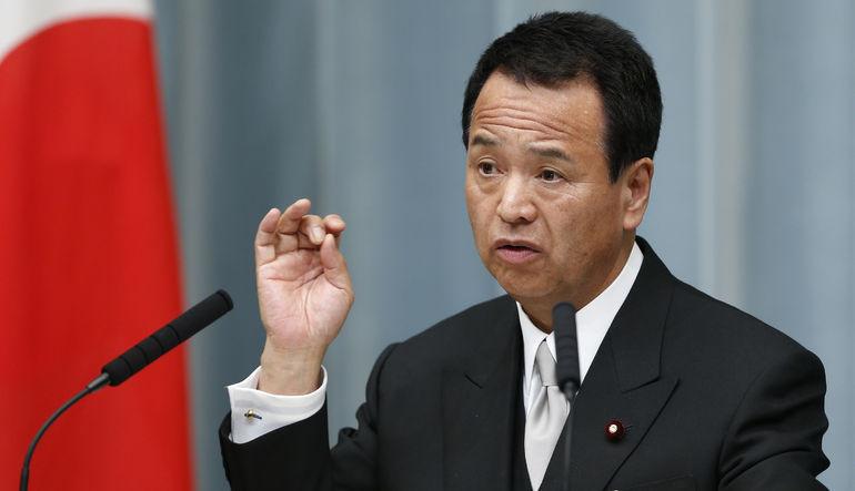 Japon Ekonomi Bakanı Akira Amari, Yunanistan'da yaşanan krizinin tek başına kemer sıkmanın bir ülkenin mali sorunlarını çözmeye yetmediğini gösterdiği