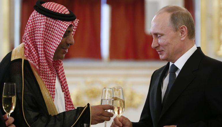 Suudilerle Ruslar yakınlaşıyor