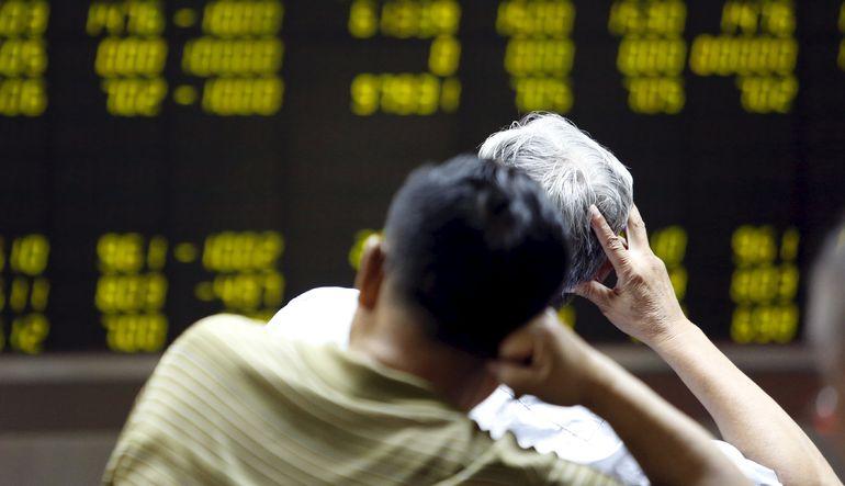 Çin borsasında 2007'den beri en büyük düşüş