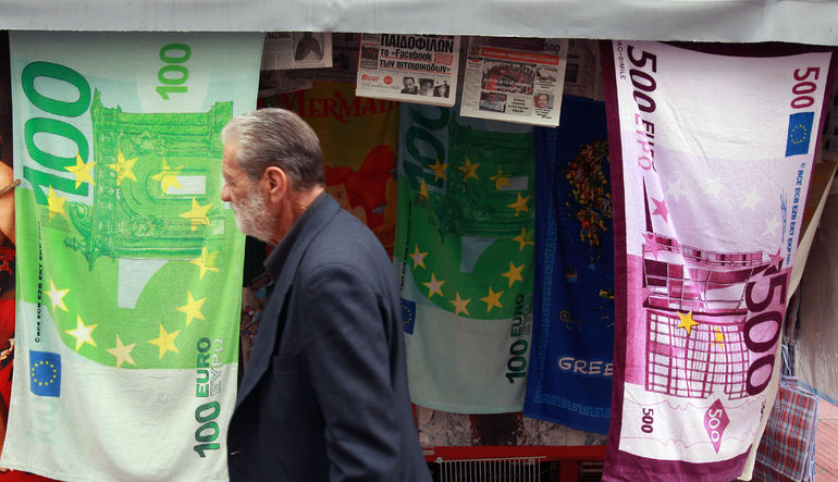Euro, Yunanistan anlaşmasının ardından gözlerin Fed'e dönmesi sonrasında gerileme gösterdi