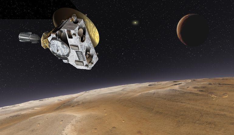 New Horizons, Plüton'dan yakın çekimler geçen ilk uzay aracı olacak