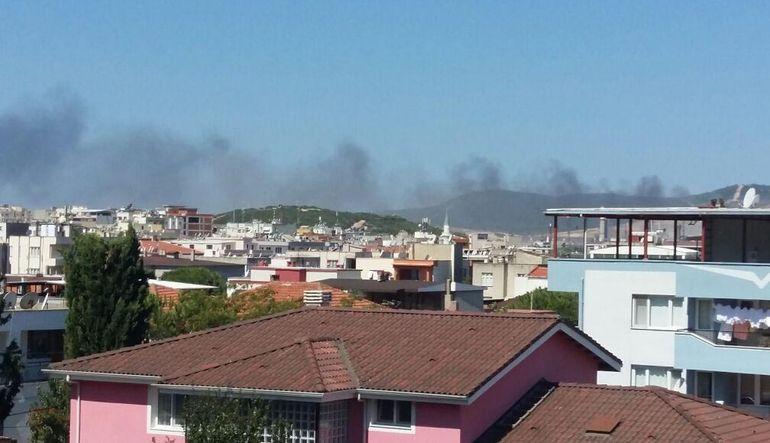 Tüpraş'ta yangın