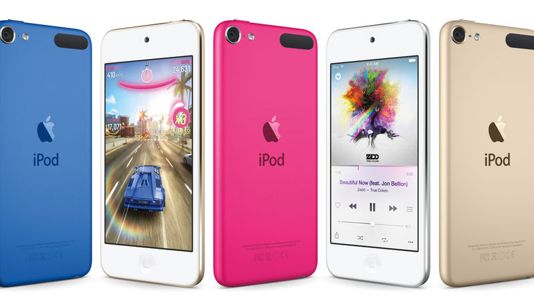 Apple iPod'u yeniledi