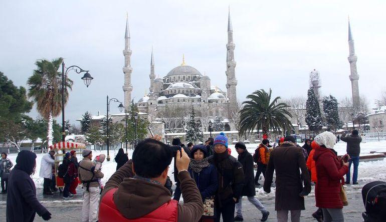 Değişen turist profili: Daha az Japon, daha çok İranlı