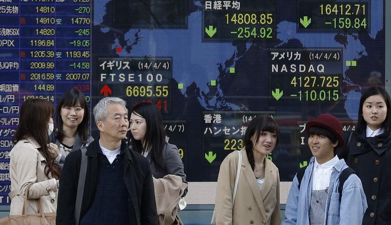 Japon hisseleri Apple ile düştü