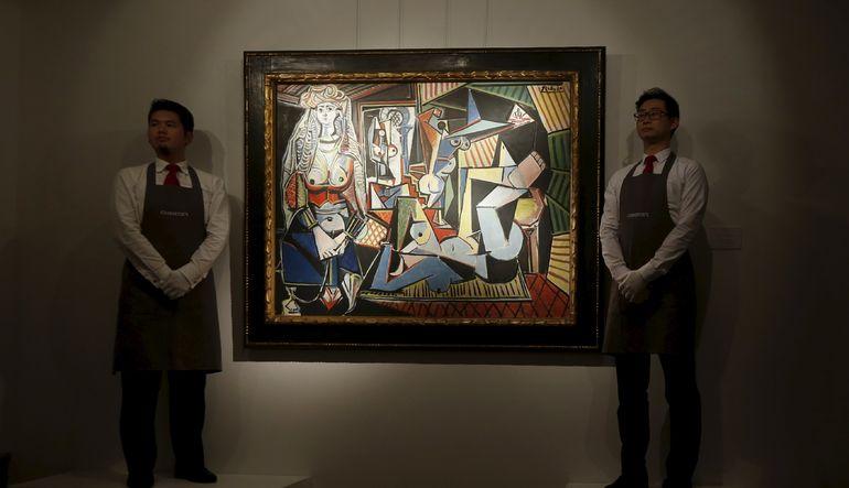 Picasso'nun eserlerine büyük talepjavascript:;