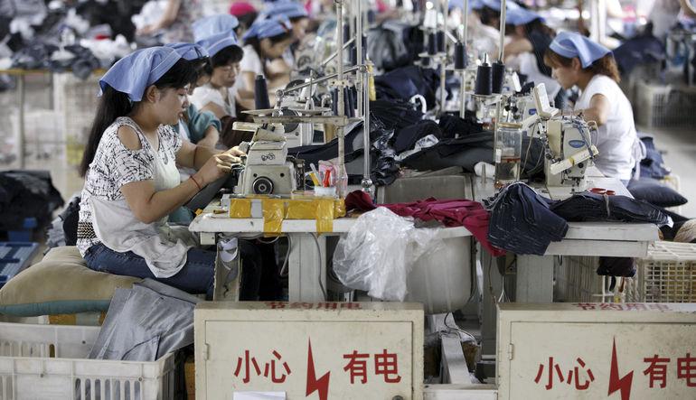 Çin'den 15 ayın en olumsuz sanayi verisi