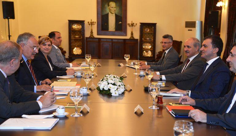 AK Parti ve CHP heyetleri ilk kez birarada