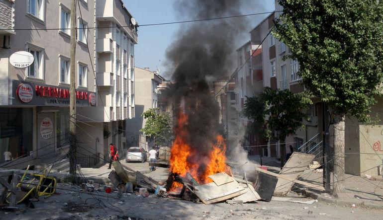 Gazi'de saldırı