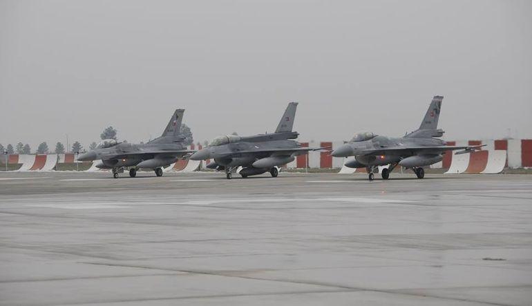 Kuzey Irak'ta PKK hedefleri yeniden vuruluyor