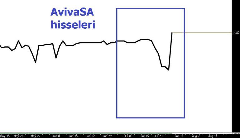 AvivaSa hisselerini uçuran karar