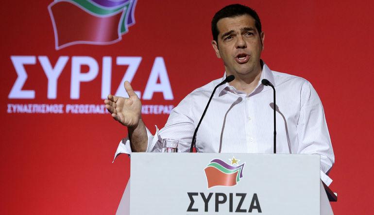 Tsipras'ın kongre önerisi kabul edildi