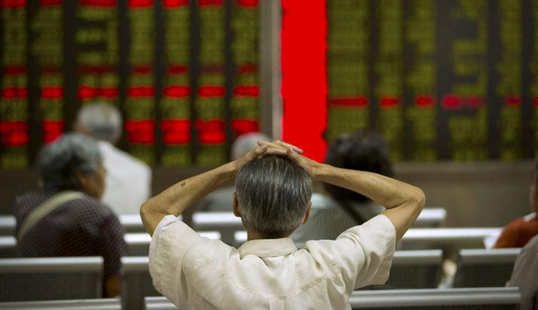 Çin borsasında 6 yılın en büyük aylık düşüşüne doğru