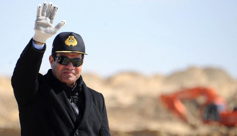 Mısır'ın kanal genişletme projesi