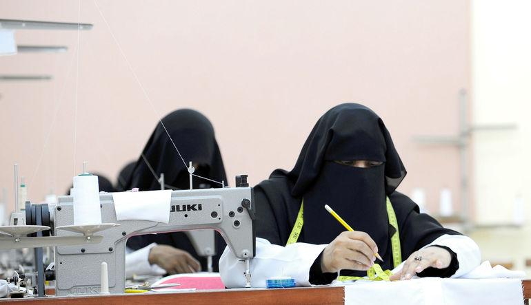 Suudi kadınlar iş hayatında