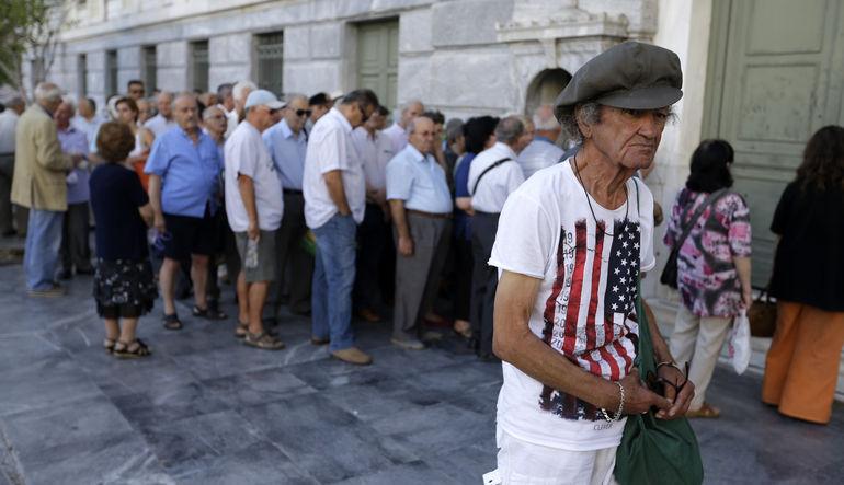 AB'den Yunan bankalarına koruma hamlesi