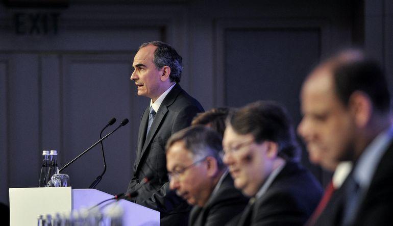 Merkez Bankası'nın ekonomistlere sunumu