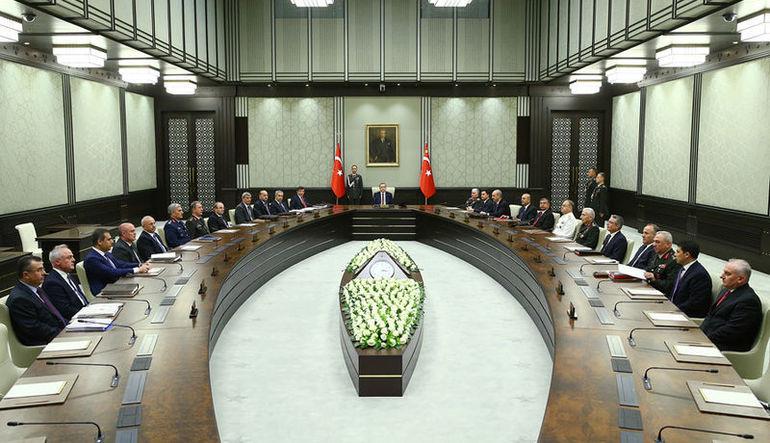 Milli Güvenlik Kurulu 2 Eylül'de toplanıyor