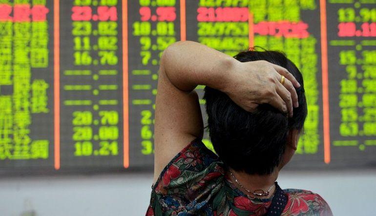 Çin hisseleri çakıldı