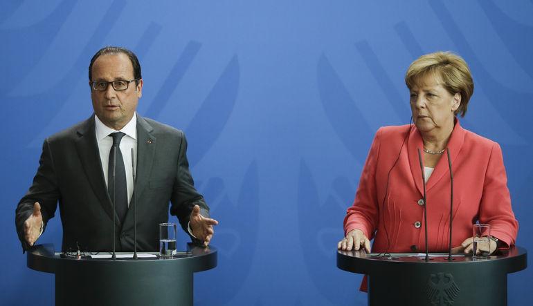 Merkel ve Hollande, Çin için iyimser