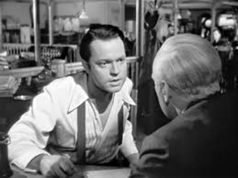 analysis of citizen kane orsen wells Citizen kane table of contents character list analysis of major characters charles foster kane jedediah leland susan alexander kane themes, motifs, and symbols.