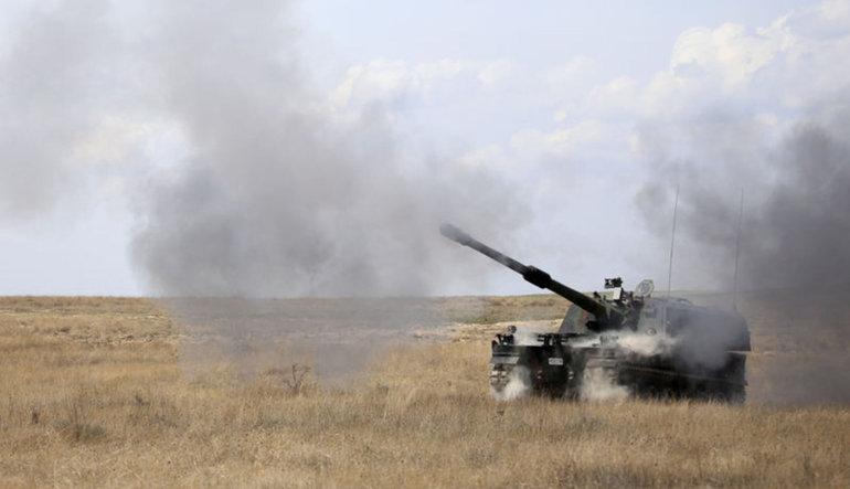 TSK'dan Suriye'de YPG üslerine saldırı