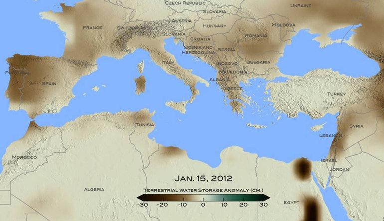 900 yılın en büyük kuraklığını yaşıyoruz