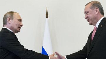 Erdoğan ve Putin'den süpriz görüşme