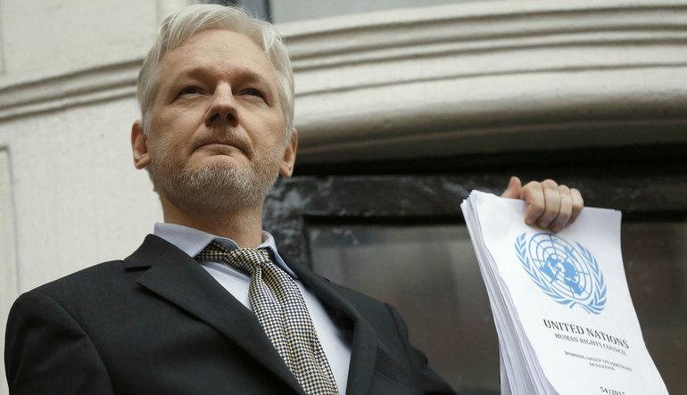 Assange'ın interneti ABD seçimleri korkusuyla kesildi