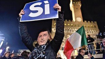 İtalya anayasa referandumu için sandık başında