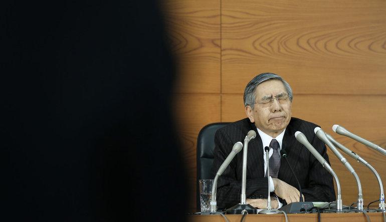 """BoJ Başkanı'ndan kriz uyarısı, adres """"düşük faizler"""""""