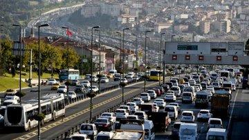 Dünyanın en sıkışık 10. trafiği Türkiye'de