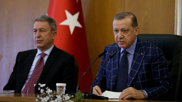 Erdoğan ve Genelkurmay'dan Hürriyet manşetine tepki