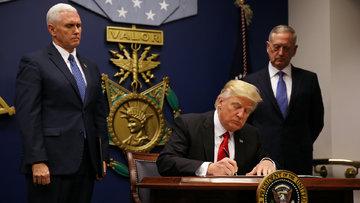 Trump'ın vize yasağı Irak'sız sil baştan