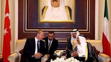 Türkiye'den Kuveyt Emiri'ne devlet nişanı