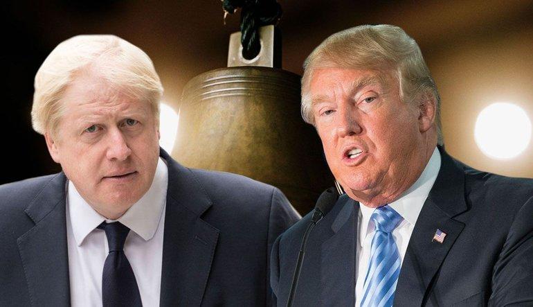 Trump bu sefer de İngiltere'yle gerildi