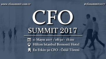 CFO Summit 2017'nin tarihi belli oldu
