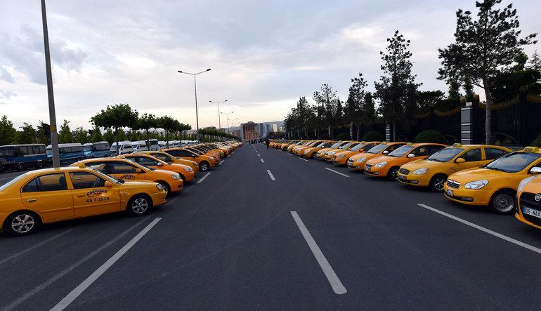 Taksilere getirilen