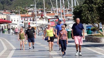 Turist sayısındaki azalma 1 yılın en düşüğünde