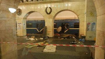 Rusya'da metroda patlama