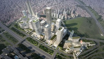 İstanbul Finans Merkezi'nin müteahhidi iflas etti